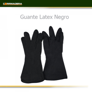 Guante Negro Latex