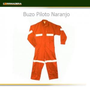 Buzo piloto Naranjo